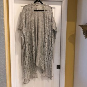 Free People Light Silver Wrap